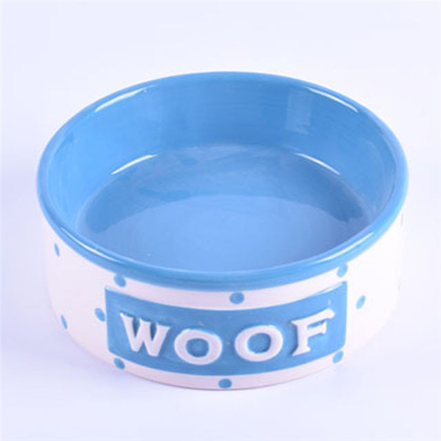 Lucy Ruby Coco Exklusive Verwendung Pink Ceramic Pet Feeder Ceramic Dog Bowl